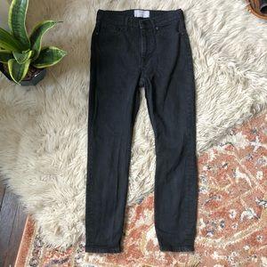 Everlane Skinny Jeans in Washed Black
